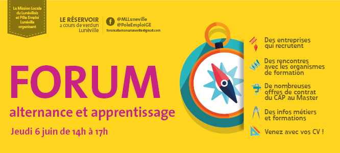 Forum Alternance Et Apprentissage à Lunéville Communauté